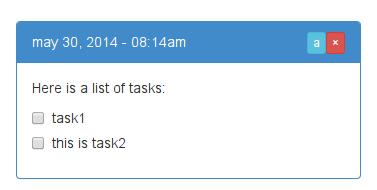 display task notes school